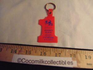 Vintage Key Chain Joann's Place Cheektowaga NY Buffalo Bills Helmet Logo