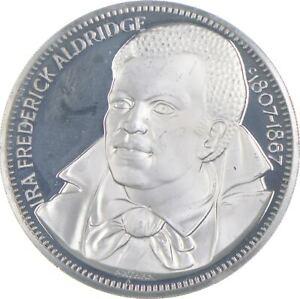 Sterling Silver - Ira Frederick Aldridge - 925 - 26.4 Grams Round/Art Bar *678