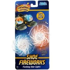 Uncle Milton Shoes Fireworks Light Show Ages 5+ New Girls Boys Toy Fun Outdoor