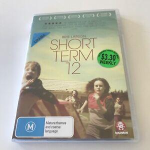 Short Term 12 EX RENTAL DVD Brie Larson