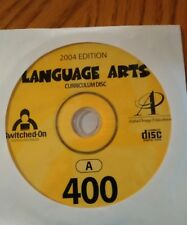 Switched On Schoolhouse (SOS)  English 400 4th gr, Language Arts, Homeschool