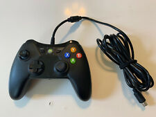 Xbox 360 Black Controller Wired