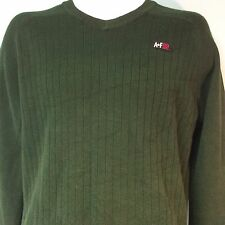 Abercrombie Fitch Mens Sweater AF 92 Green EUC Ships Free