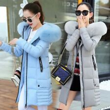 Winter Jacket Women Down Cotton Padded Ladies Parka Hooded Outwear Coat new