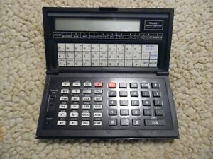 Tandy PC-6 Radio Shack Pocket Scientific Computer Untested Selling As Is