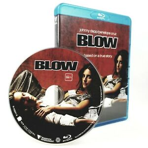 Blow Blu-Ray George Jung True Crime Johnny Depp Penelope Cruz Rachel Griffiths