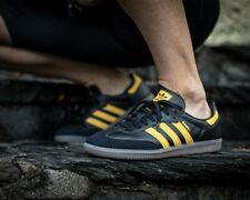 BNWB Genuine Adidas Originals ® Samba OG Black Gold Oslo C/W Trainers UK Size 7