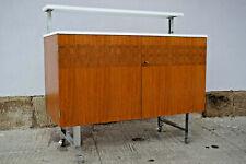 60er Vintage Barschrank Sideboard Kommode Nussbaum Bar Retro Danish Mid-Century