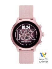 Nuevo Genuino GEN 4 mkgo Michael Kors Damas Rosa Correa de caucho reloj inteligente MKT5070