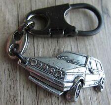 VW Gold I GTI -  Schlüsselanhänger - Kein Pin  - 3 D - Kult!