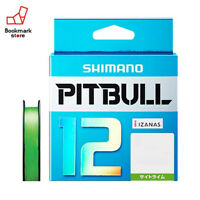 NEW Shimano Pitbull X12 Lime Green 200m 23.4lb/10.6kg #1.0 Braided PE Line Japan