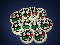 10 toppa toppe patch lega calcio serie A - B 1998-2003 originali no lextra