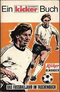 Kicker Almanach 1975 - Das Fußballjahr im Taschenbuch