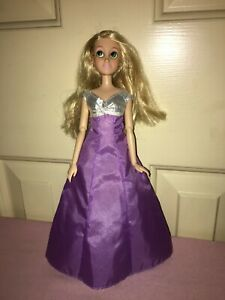 Disney's Rapunzel - long blonde hair, played with, hinged arms & wrists