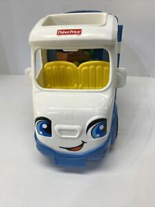 Fisher Price Little People Songs & Sounds Camping Camper Van RV Toy Play 2015