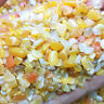 50g Bulk Tumbled Stone Yellow Agate Quartz Crystal Healing Reiki Mineral