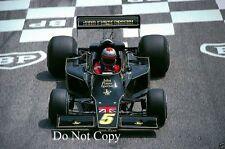 Mario Andretti JPS Lotus 77 French Grand Prix 1976 photo