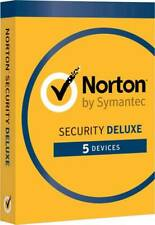 Norton Deluxe Security 1year - 5 Devices  - 2020 License Activation Key