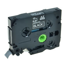 "30PK TZe TZ 335 TZ335 TZe335 White On Black Label Tape For Brother P-Touch 1/2"""