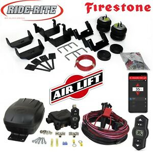 Firestone 2525 Ride Rite Air Bags AirLift Wireles Compressor for 09-14 Ford F150