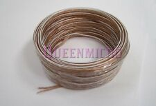 50Ft High Quality 22 AWG Gauge Home Car Audio Speaker 2 Conductor Wires Cable