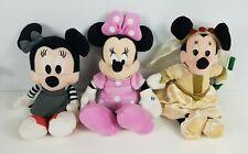 3 Minnie Mouse Plush
