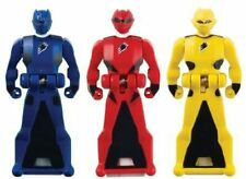 Power Rangers Super Megaforce Jungle Fury Legendary  Key Pack, Red/Blue/Yellow