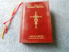 The New Saint Joseph Sunday Missal, Complete Edition (Vinyl)