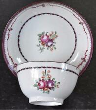 Early 19th Century tea bowl & saucer - Newhall / Keeling style c.1800 (B459)