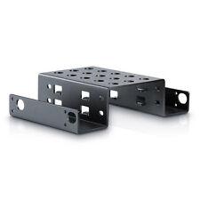 "[US Ship] 2-Bay Aluminum Rack 5.25"" to 2.5"" SSD Hard Disk Drive Mount Bracket"