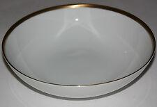 Arzberg Cuenco de añadidos blanco,Oro Negro Borde con Dibujos Nr. 3106,Dm 23,5