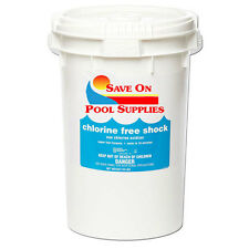 40 Lbs SOPS Chlorine-Free Pool Shock For Swimming Pool (1 x 40 lb Pail)