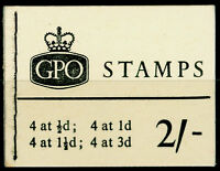 SG N4p, BOOKLET, NH MINT. Cat £80.