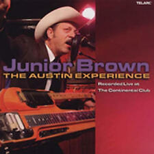 Brown Junior - Live At The Continen NEW CD