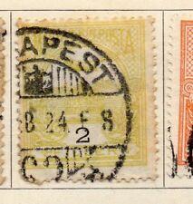 Hungría 1900 antiguo problema Fine Used 2f. 104360