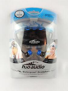 H2O Audio Underwater Headphone System Waterproof Earbuds iPod Shuffle iSH4-5A1
