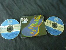 ROCK STARS ULTRA RARE AUSTRALIAN ONLY DOUBLE CD! STATUS QUO HENDRIX 10CC QUEEN