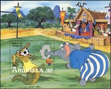 Anguilla 1982 Disney/Football/Crocodile/Elephant/Soccer/Cartoons 1v m/s (b1480)