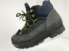 SOREL Women's 7W Black Blue Lace Up Ankle Boot Hiking Climbing Mountaineering