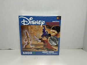 """DisneyPhotomosaics Puzzle """"Mickey Mouse as the Sorcerer's Apprentice"""" 1000 PC"""