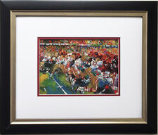 "LeRoy Neiman ""Silver Dome Super Bowl 1982"" Newly FRAMED  XVI San Francisco 49ers"