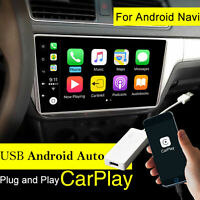 Für iPhone Carplay Android Auto USB Dongle Navi Headunit Smart Link Touchscreen