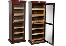The Barbatus Cigar Cabinet Humidor by Prestige Import Group