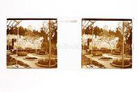 Giardino Russie Russia Placca Da Lente Positive Vérascope Richard Ca 1910