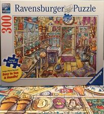 Ravensburger Cozy Potting Shed 300 large piece puzzle EUC