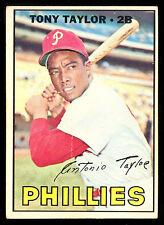 1967 TOPPS OPC O PEE CHEE BASEBALL #126 TONY TAYLOR VG-EX PHILDELPHIA PHILLIES