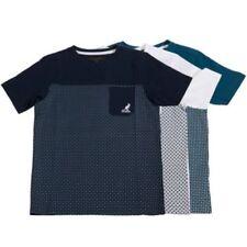 Camiseta de niño de 2 a 16 años manga corta color principal azul
