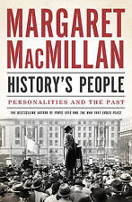History's People Personalities And The Past by Margaret MacMillan Paperback Book