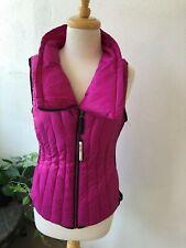 Calvin Klein Pink Zip Up Vest Style Sleeveless Jacket Size Medium