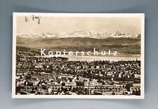 Ansichtskarte ZÜRICH von der WEID um 1926